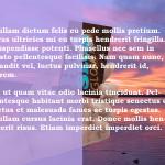 Tinted Background Image
