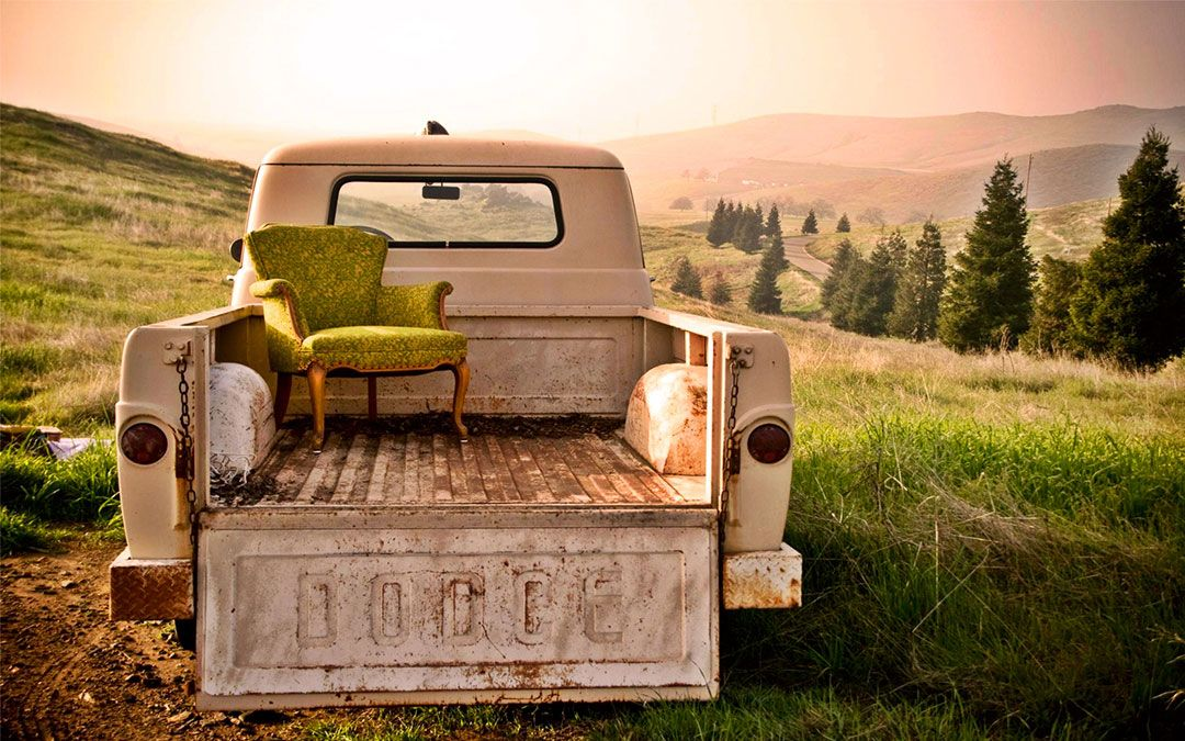 Dodge Truck with a View