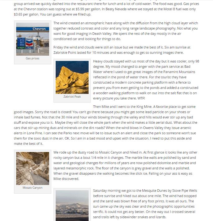 Jumbled Blog Posts