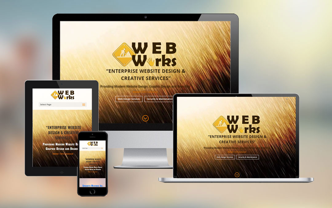 Web Works Responsive Mockup