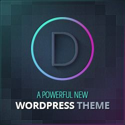 WordPress Divi Theme Ad Graphic - divi_728x90